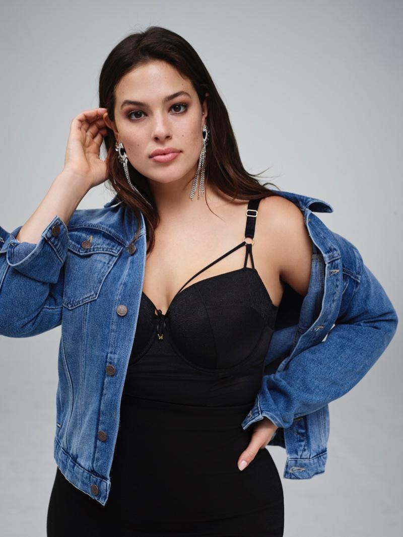 Model Ashley Graham rocks denim in Nordstrom's 2017 Anniversary Sale campaign