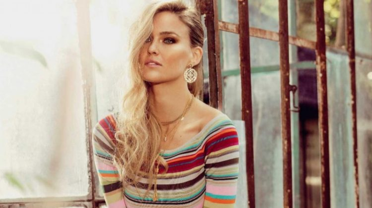 Bar Refaeli Wows in Chic Ensembles for Hola! Fashion