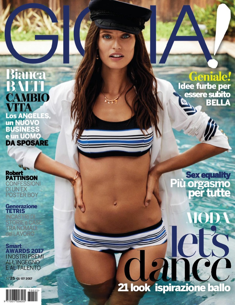 Bianca Balti on Gioia July 1st, 2017 Cover