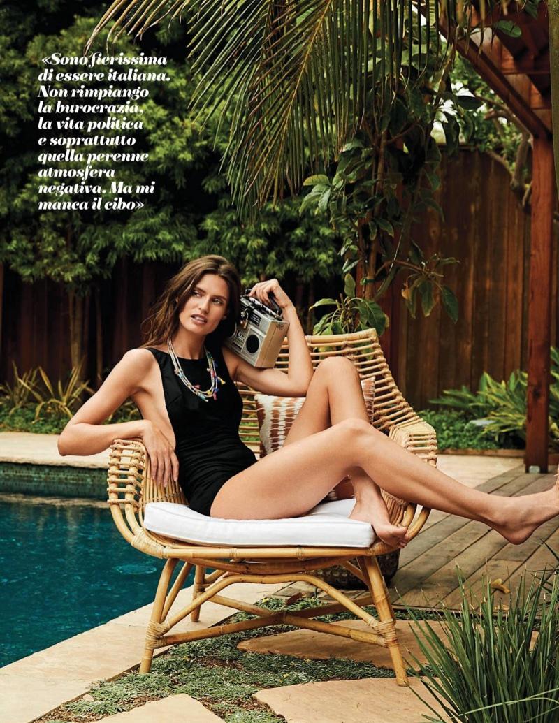 Bianca Balti is Ruling Swimsuit Season in Gioia