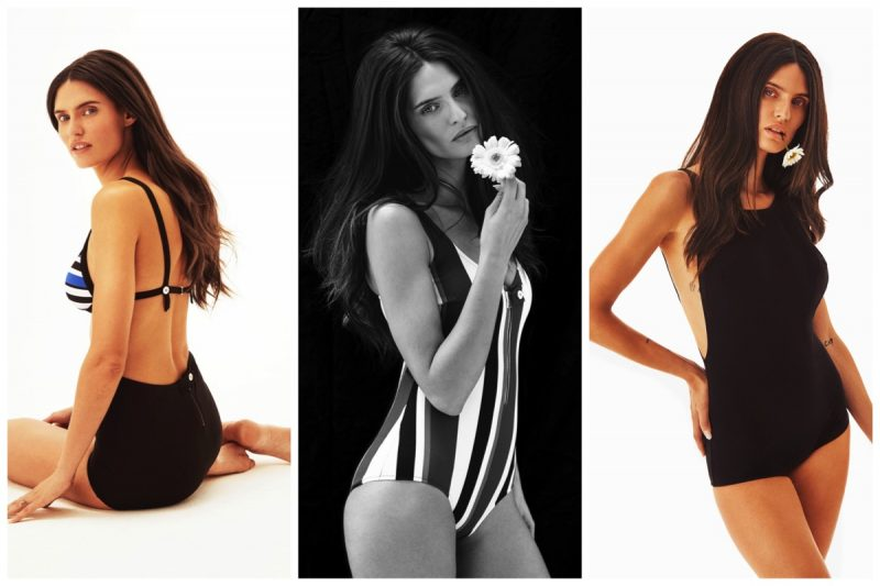 Bianca Balti Swimsuits launch at Yoox