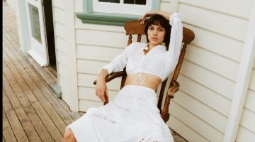 Charlee Fraser Poses in Vacation-Ready Looks for The Edit