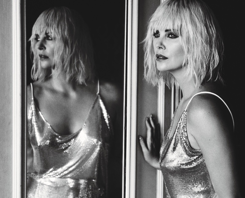 Charlize Theron Goes 'Atomic Blonde' for W Magazine Cover Story