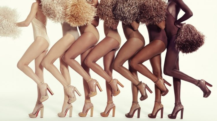 Christian Louboutin unveils new Nudes collection