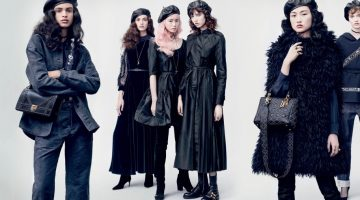 Dior Features a Chic Army in Its Fall 2017 Campaign
