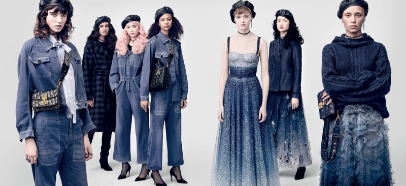 Brigitte Lacombe captures Dior's fall-winter 2017 campaign
