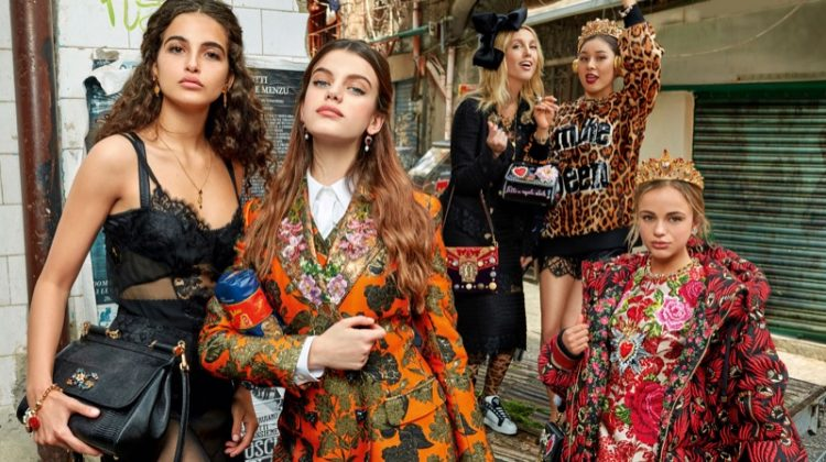 An image from Dolce & Gabbana's fall 2017 advertising campaign