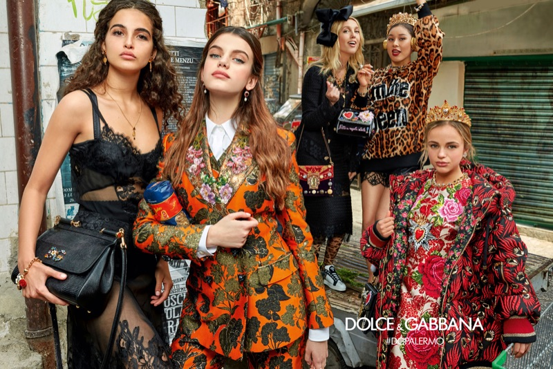 Millennials star in Dolce & Gabbana's fall-winter 2017 campaign