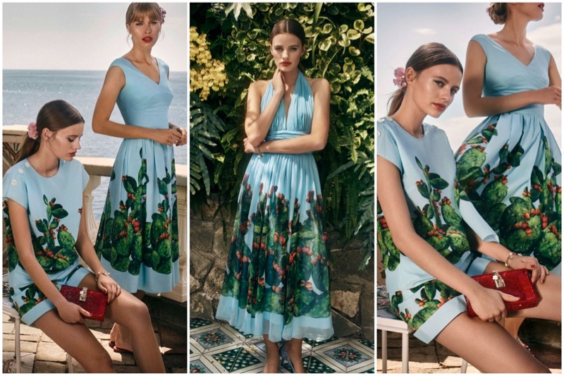 Dolce & Gabbana x MyTheresa's exclusive summer 2017 capsule collection