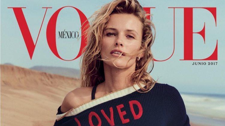 Edita Vilkeviciute on Vogue Mexico June 2017 Cover