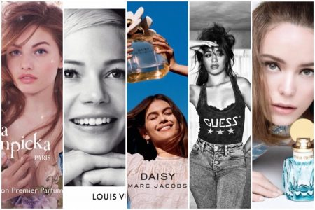 Top 5: Miu Miu, Louis Vuitton, Guess + More Recent Fashion Ads