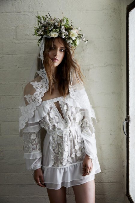 For Love & Lemons Debuts Its Super Dreamy Wedding Dress Collection