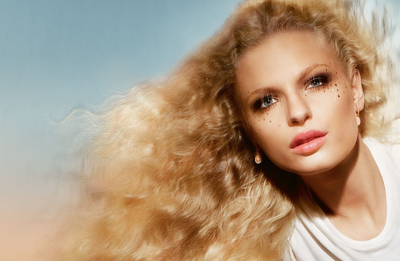 Frederikke Sofie Dazzles in Summer Beauty for Dior Magazine