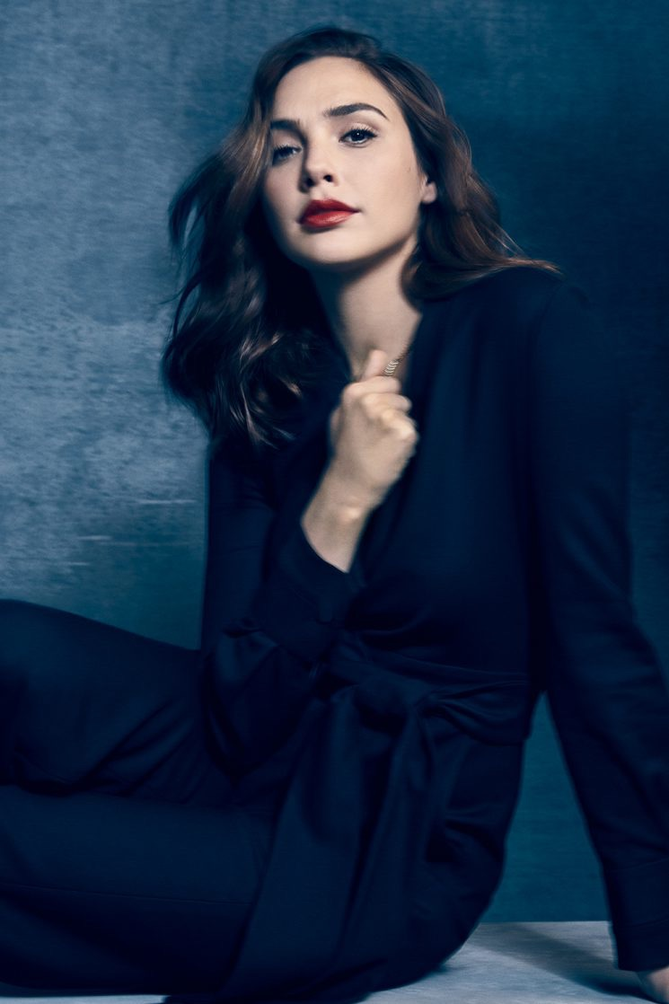 Gal Gadot Suits Up for The Hollywood Reporter