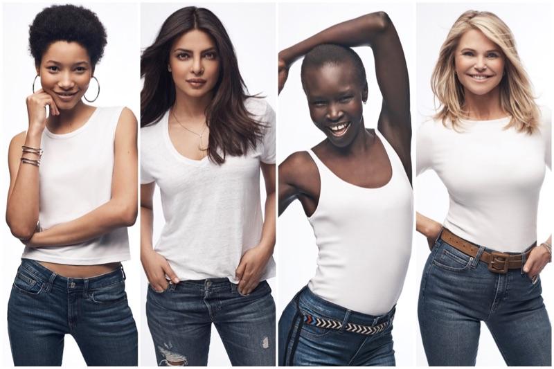 Priyanka Chopra, Alek Wek, Christie Brinkley & More Front Gap's White Tee Campaign