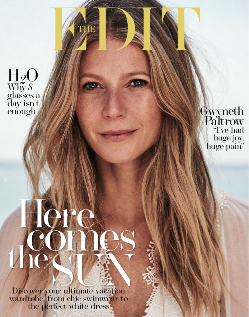 Gwyneth Paltrow on The Edit June 1, 2017 Cover