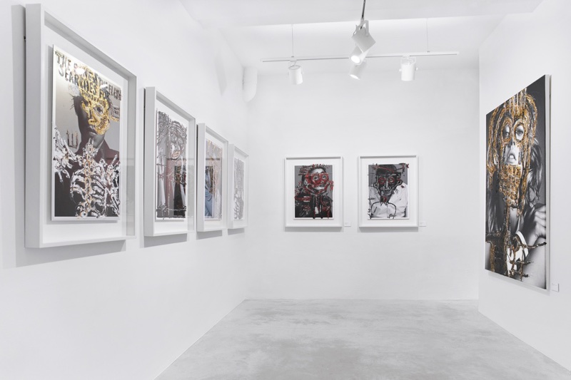 An image from Hunter & Gatti's art gallery in Barcelona, Spain