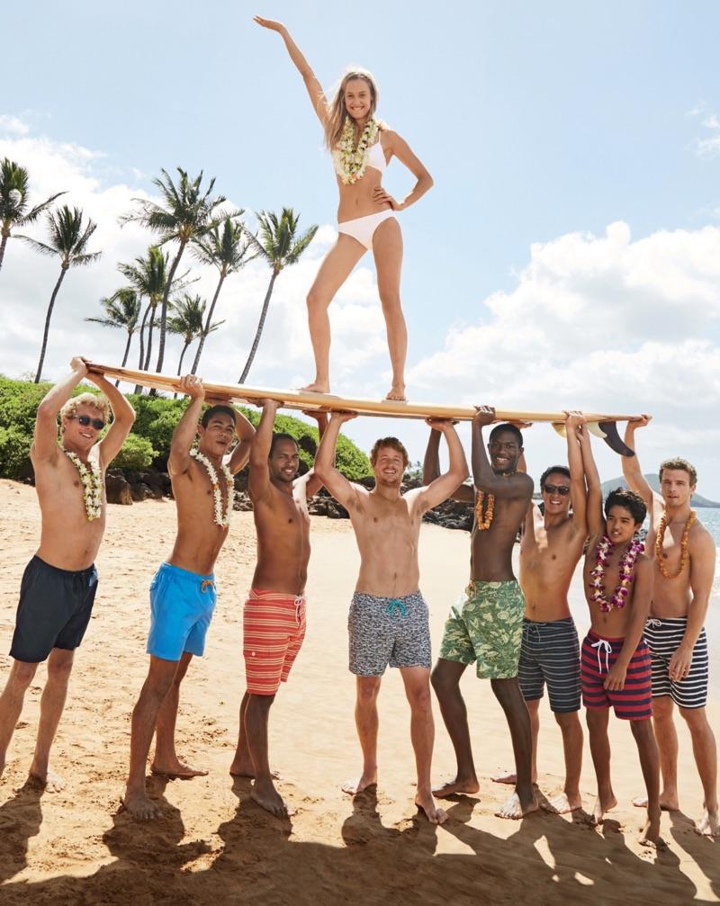 J. Crew French Bikini Top and Bikini Bottom