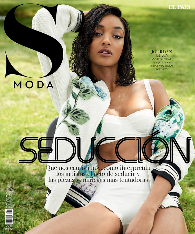 Jourdan Dunn on S Moda July 2017 Cover