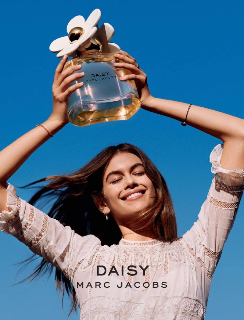 Kaia Gerber fronts the new Daisy by Marc Jacobs' campaign