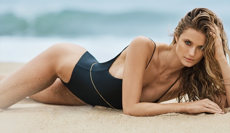 3c647c95758 Kate Bock Sizzles in Swimsuit Style for Ocean Drive | Fashion Gone Rogue