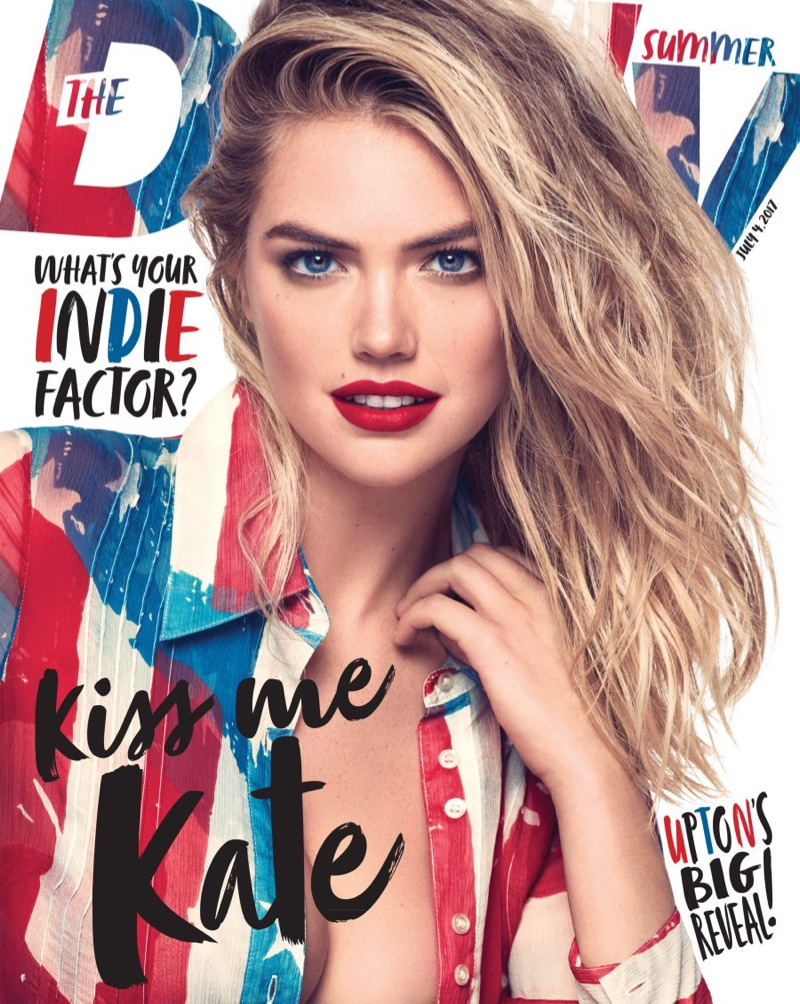 Kate Upton on The Daily Summer July 4th, 2017 Cover