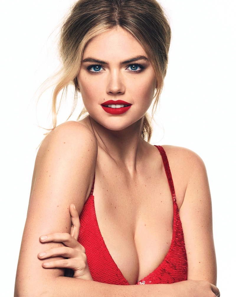 Kate Upton Gets Patriotic in The Daily Summer Cover Shoot