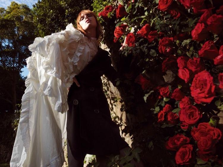 Kiki Willems stars in Vogue China's June issue