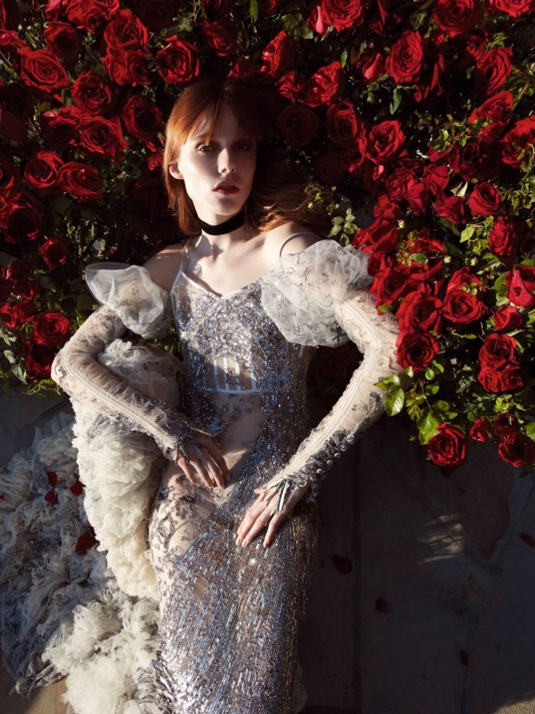 Kiki Willems is a Gothic Beauty in Vogue China