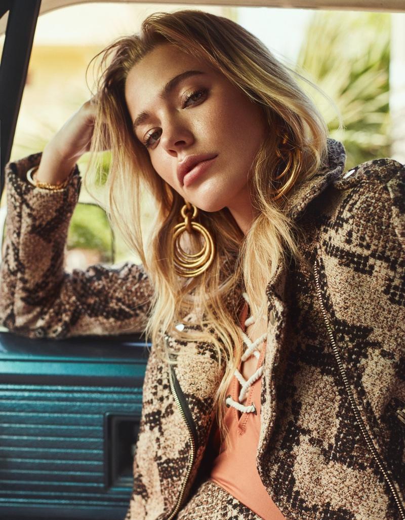 Ksenia Islamova Models Beach-Ready Looks for ELLE Turkey