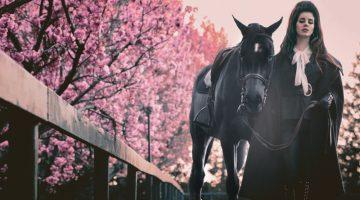 Lana Del Rey Looks Equestrian Chic in V Magazine