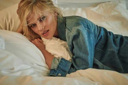 Lara Stone Keeps It Casual in Sunday Times Style