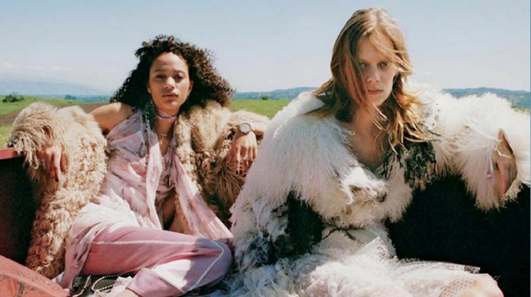 Lexi Boling & Selena Forrest Are Free Spirits in Teen Vogue