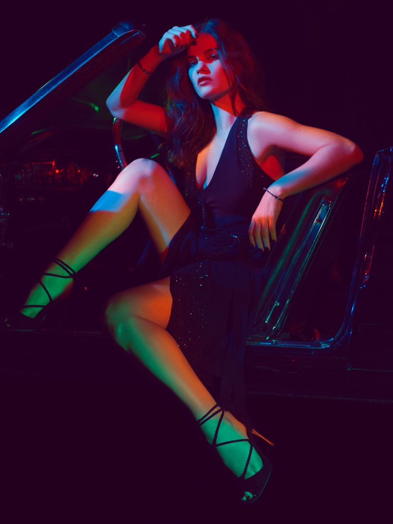 Lily James stars in GQ UK's June-July issue