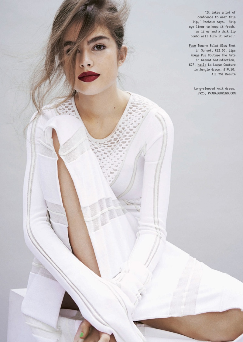 Lily Jean Harvey Is A Natural Beauty In Sunday Times Style