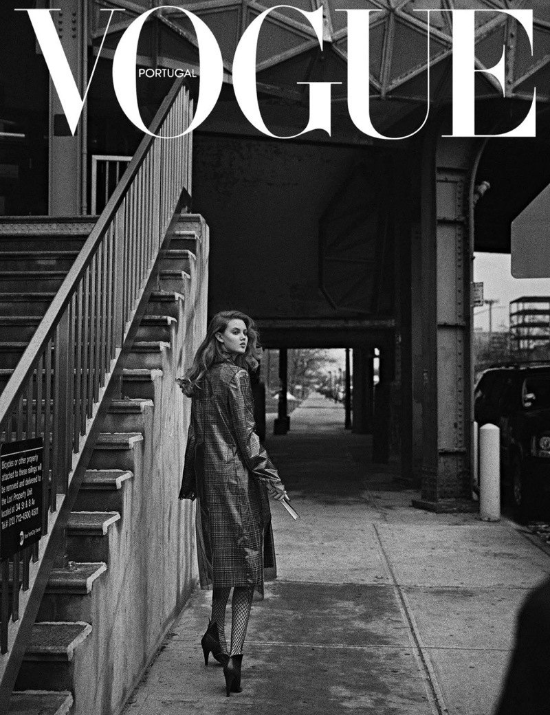 Lindsey Wixson Looks Elegant in New York for Vogue Portugal