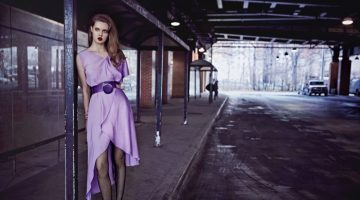 Lindsey Wixson Poses in New York Style for Vogue Portugal