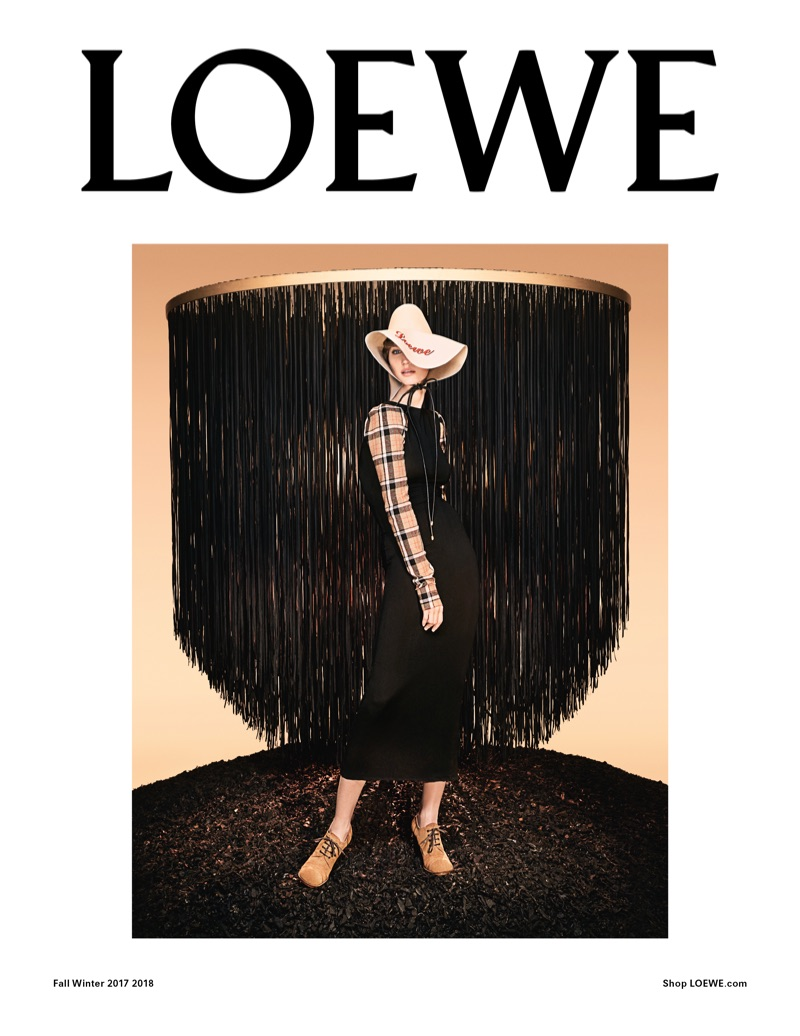 Steven Meisel photographs Loewe's fall-winter 2017 campaign