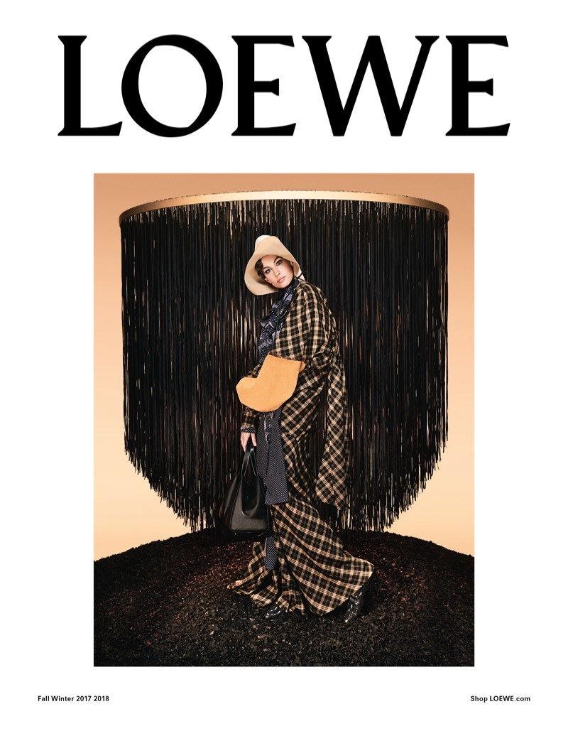 Spanish fashion brand Loewe unveils its fall-winter 2017 campaign