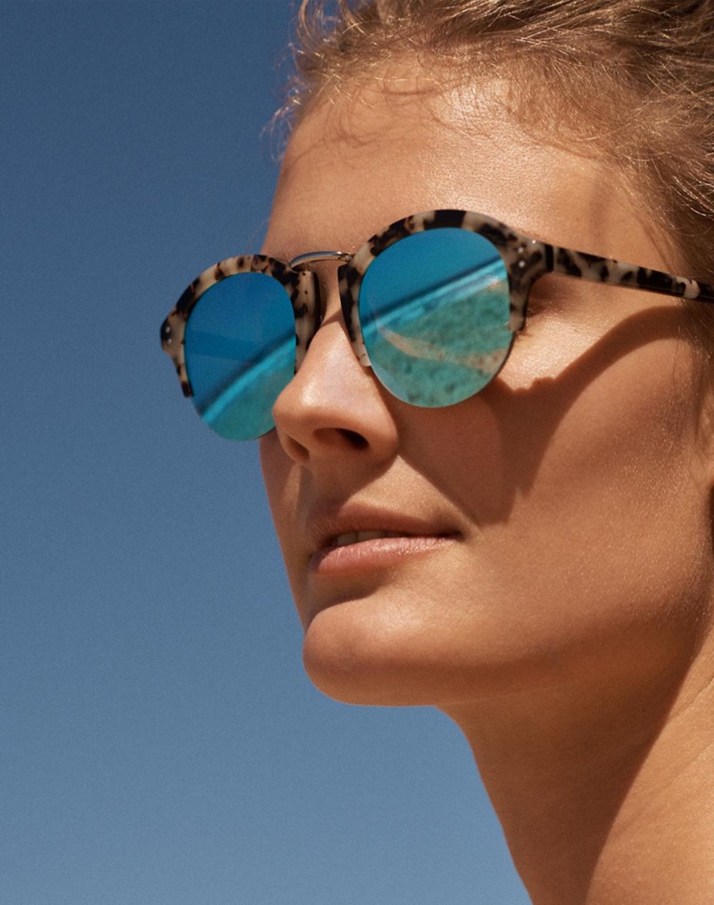Madewell Memphis Sunglasses in Milky Tort