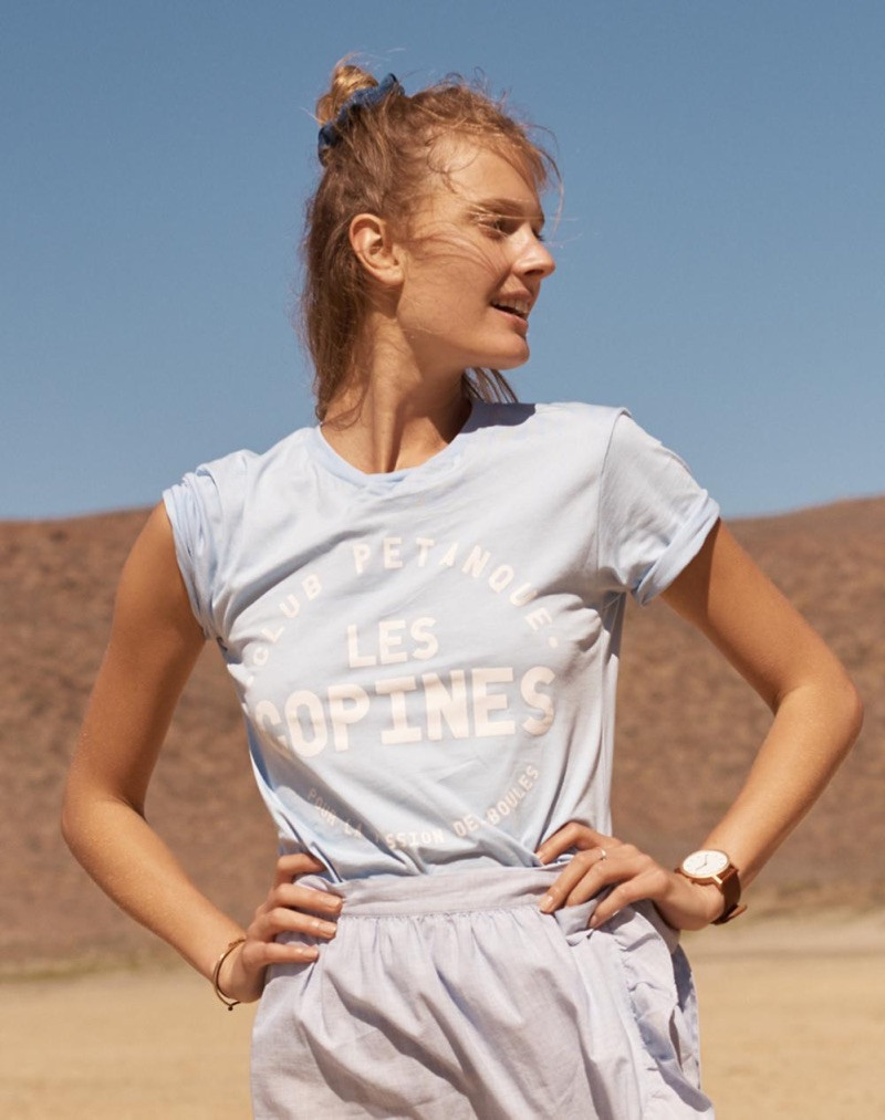 Club Petanque Les Copines Tee and The Horse Original Watch