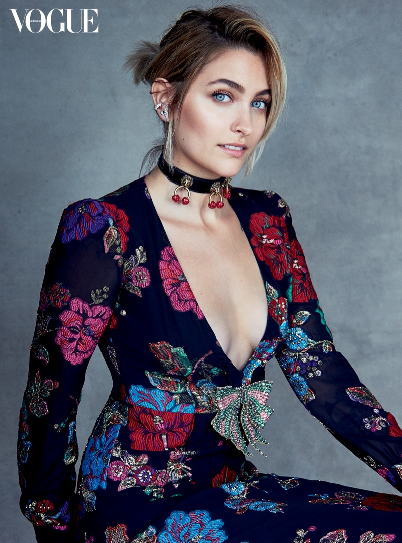 Patrick Demarchelier photographs Paris Jackson for Vogue Australia's July issue