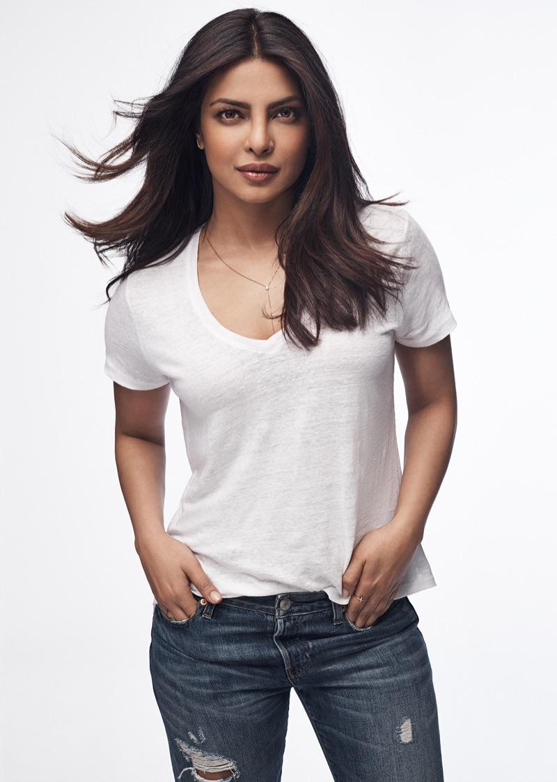 Actress Priyanka Chopra fronts Gap's Bridging the Gap 2017 campaign