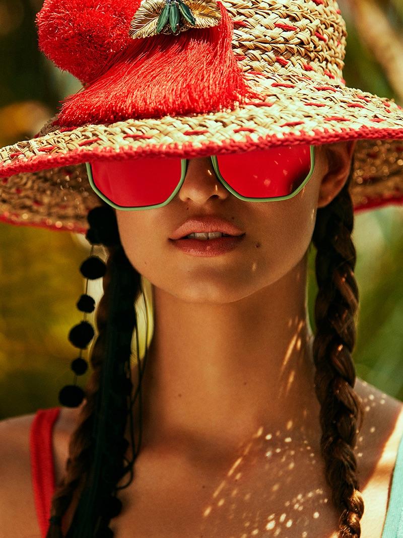 Robin Marjolein is Styled for Summer in Cosmopolitan Germany