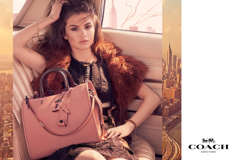 Selena Gomez Looks Incredible in Her First Coach Campaign