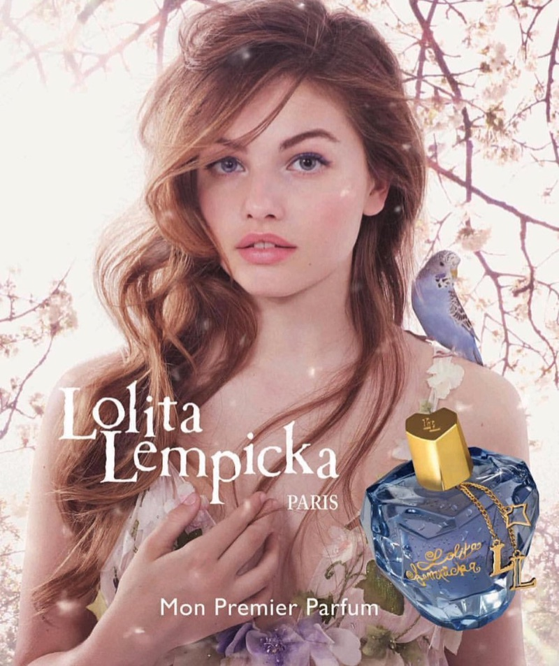 Thylane Blondeau stars in Lolita Lempicka's latest fragrance campaign