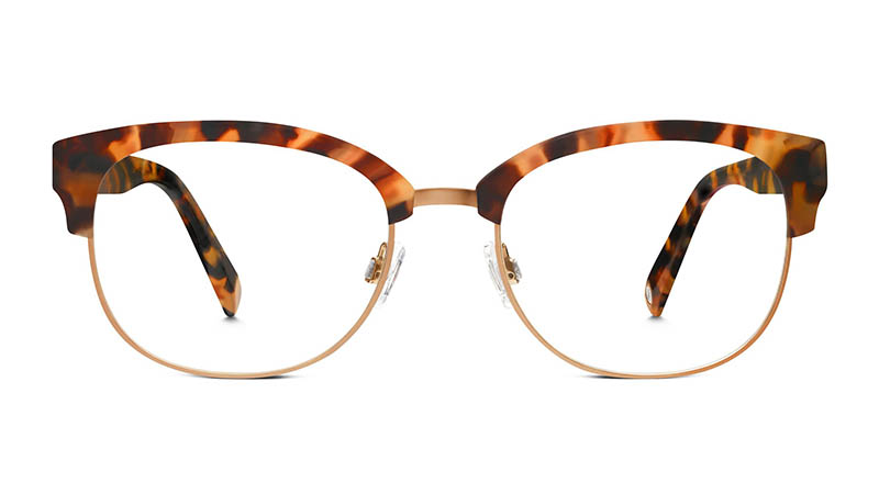 Warby Parker Eliot Glasses in Honey Tortoise $145