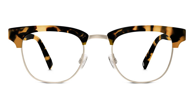 Warby Parker Hayes Glasses in Woodland Tortoise $145