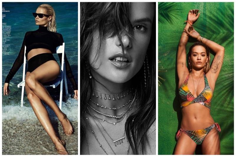 Week in Review   Alessandra Ambrosio's New Campaign, Rita Ora for Tezenis, Natasha Poly in Vogue Russia + More