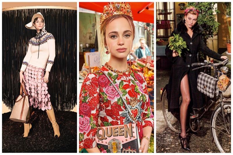 Week in Review   Hailey Baldwin in Vogue Japan, Dolce & Gabbana's Fall Ads, Gisele Bundchen for Loewe + More